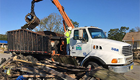 'ECUA Works To Clean Up Northpointe Subdivision' from the web at 'http://www.northescambia.com/wp-content/uploads/2016/02/ecuanorthpoitefront.jpg'