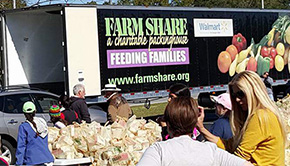 'Farm Share Distributes 35K Pounds Of Food To Tornado Victims' from the web at 'http://www.northescambia.com/wp-content/uploads/2016/02/farmsharefront22.jpg'