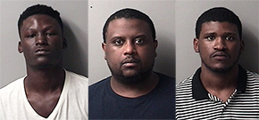 Three Charged In Shots Fired Disturbance At Century Apartments