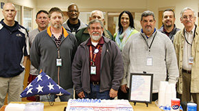 'Northview High Honors Faculty Members On Military Appreciation Day' from the web at 'http://www.northescambia.com/wp-content/uploads/2016/02/nhsmilapprefront.jpg'