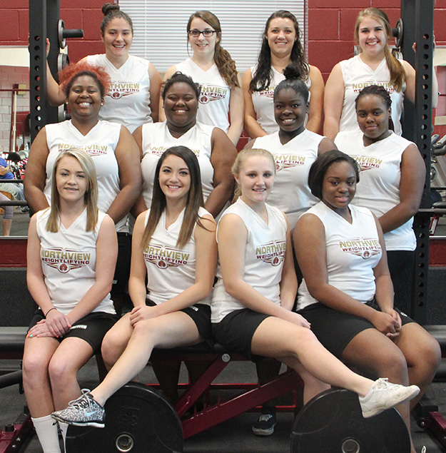Northview Girls Weightlifting Team Presents Season Awards