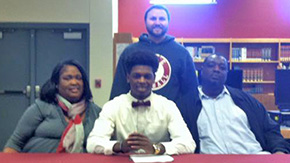 Tate High's Payne Signs With Morehouse College