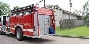 Fire Damages Atmore Apartment