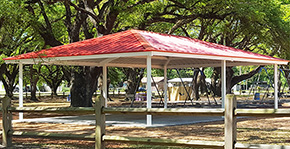New Pavilion Installed At Carver Park In Cantonment