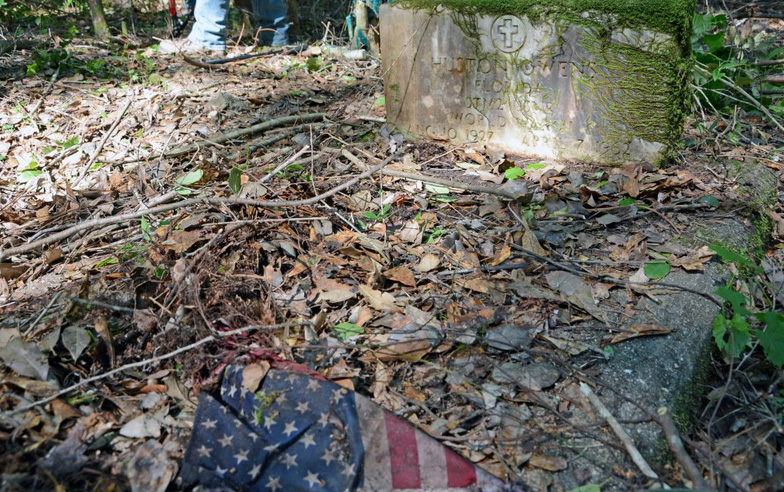 Crews Work To Uncover History Of Old Muscogee Cemetery