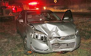 Driver Flees Scene After Wreck