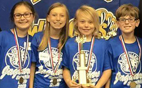 Jim Allen Elementary Shines At Math Competition
