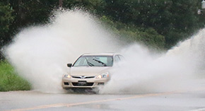 Photos: Heavy Rain Causes Highway 97 Flooding