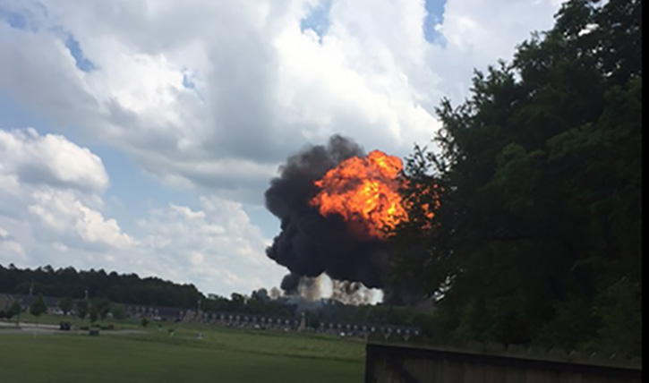 Blue Angel jet crashes outside of Nashville
