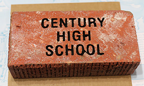 Bricks For Century High Monument Now On Sale