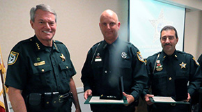 Deputies Receive Medal Of Courage For Actions Following Century Tornado