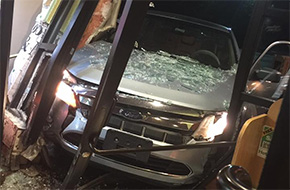 Uber Driver Plows Into Escambia County Restaurant