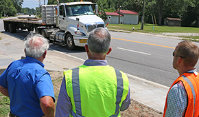 FDOT Engineer Plots Action Plan To Remedy Hwy 29 Truck Rollovers