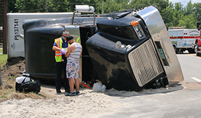 Century Pleads With FDOT To Fix Problem Curve After Another Truck Overturns