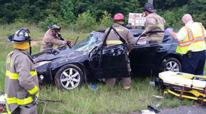 One Serious After Highway 29 Rollover Crash In Cantonment