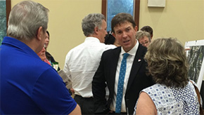 Barry Discusses Issues At District 5 Town Hall Meeting