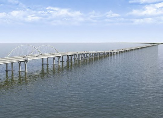 Plan drawings released of new pensacola bay bridge for Pensacola bay fishing