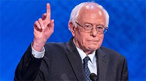 Bernie Sanders Lauds Hillary Clinton As Convention Opens