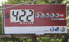 Powerball Jackpot Soars To $422 Million For Wednesday's Drawing