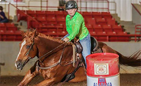 Oak Grove Girl Competing For National Barrel Racing Title