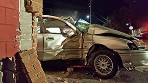 Driver Critical After Slamming Into Gonzalez Barber Shop