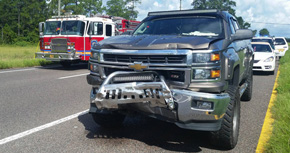 No Injuries In Cantonment Highway 29 Crash
