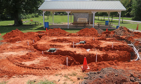 Century Splash Pad Installation Underway