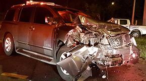 Two Injured In Nine Mile, I-10 Crash