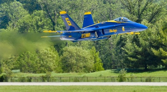 Navy Report: Blue Angel Crash Due To Pilot Error ...  |Blue Angel Crash Death