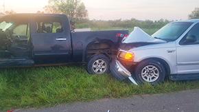 No Serious Injuries In Four-Vehicle, One Pedestrian Crash Near Walnut Hill