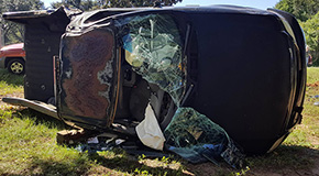 One Injured In 90 & 9 Ranch Road Traffic Crash