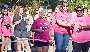 Tate Aggies Breast Cancer Walk Raises Over $2K