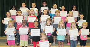 Bratt Elementary School Names Students Of The Month