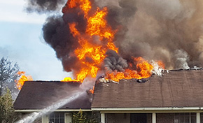 Fire Rips Through Home (With Gallery, Video)