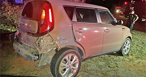 No Injuries In Deputy Involved Crash In Cantonment
