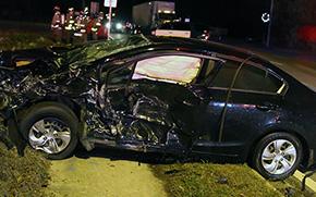 Three Injured In North Century Boulevard Crash