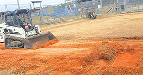 Work Underway At Cantonment Sportsplex, Baseball Registration Open