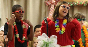 Dear Santa: Jim Allen Students Present Christmas Play