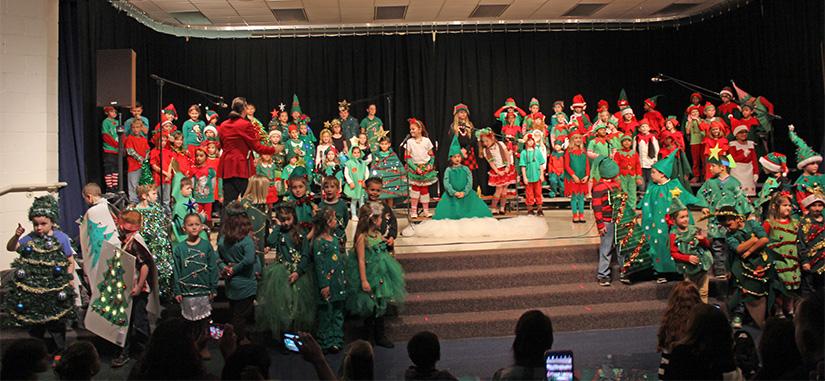 Molino Park First, Second Grades Present 'The Littlest