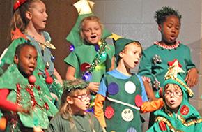 Molino Park First, Second Grades Present 'The Littlest Christmas Tree'