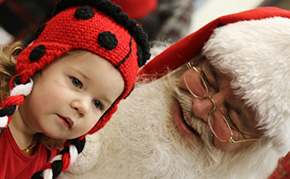 Santa Claus Visits Century Library (With Photo Gallery)
