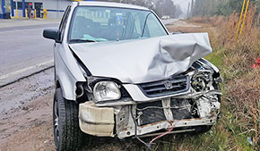 Driver Injured In Highway 95A Two Vehicle Crash