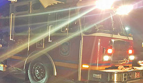 Early Morning Fire Burns Molino Storage Shed