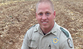 Hutchinson Named FWC's Officer Of The Year