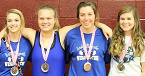 Jay Lady Royals Advance To Regional Weight Meet