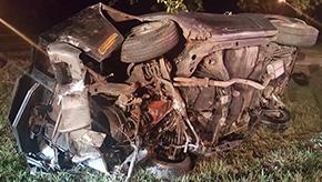 No Injuries In Classic Car Crash