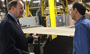 Sen. Richard Shelby Tours Atmore Manufacturing Plant
