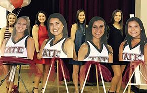 Tate High Senior Cheerleaders Honored