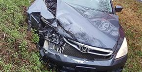 No Injuries In Molino Crash