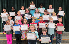 Bratt Elementary Names March Students Of The Month